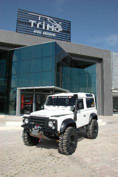 Land Rover Defender 90 | Trimo VIP Auto Design & Van Conversion – Oto Dizayn – Reise Bus Umbau – Tourism Bus – VIP TURIZM SERVIS