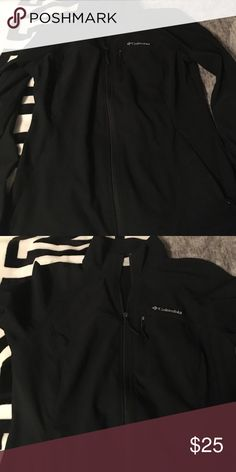 Columbia Jacket good for spring and early fall. Black Columbia jacket in mint condition worn once. Great for Spring and early fall. Columbia Jackets & Coats