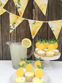 This item is unavailable This item is unavailable Alicia Karlsruhen aliciakarlsruhe 40 Geburtstag lemon cupcake toppers lemonade party ideas lemon themed baby shower lemon nbsp hellip Cupcake baby shower Bbq Decorations, Baby Shower Decorations, Birthday Decorations, Birthday Party Themes, Baby Decor, Yellow Party Decorations, Birthday Ideas, Kids Party Themes, Themed Parties