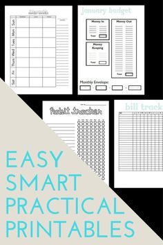 PRETTY Budget Planner Kit, Happy Planner Printable Budget, Cash ...