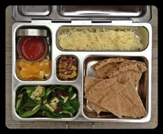more lunch ideas! I like the build your pizza and reusable silicone freezie pop molds