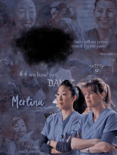 Edit Cristina Yang and Meredith Grey Grey's Anatomy Cristina Yang, Cristina And Meredith, Meredith Grey, Grey's Anatomy, Greys Anatomy Episodes, Greys Anatomy Characters, Abc Family, Family Games, Famous Movie Quotes
