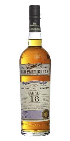 Ledaig 18 Years Old (Douglas Laing) Alcohol Spirits, Whisky Tasting, Malt Whisky, Scotch Whiskey, Old Bottles, Bottle Design, Distillery, Bourbon, Whiskey Bottle