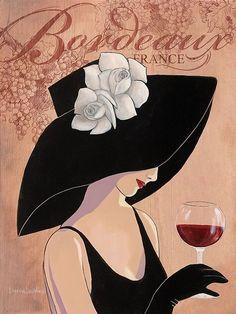 "Photo from album ""Lorraine Dell Wood. Ода шляпе"" on Yandex. Porcelain Jewelry, Porcelain Vase, Fine Porcelain, Wine Art, Pencil Art Drawings, Fashion Painting, Beauty Art, Fabric Painting, Lorraine"