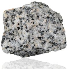 Granodiorite is a phaneritic texture intrusive igneous rock similar to granite, but containing more plagioclase feldspar than orthoclase feldspar. According to the QAPF diagram, granodiorite has a greater than 20% quartz by volume, and between 65% to 90% of the feldspar is plagioclase.