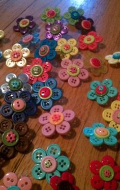 Diy beautiful button craft