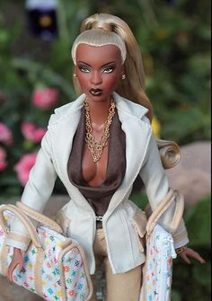 african american dolls | REALLY!? | Is This The New African-American Face of Barbie ...