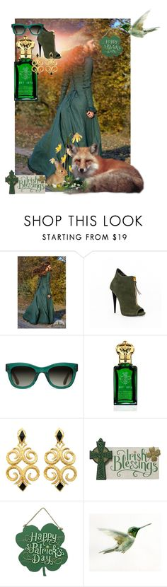 """Irish Blessings!"" by pinkprairiestorm ❤ liked on Polyvore featuring TOMS and Clive Christian"