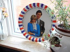 Lovely wedding commemorative tin tray of Prince Charles and Lady Diana. This one is for British Royal Family collectors. Lady Diana, Prince Charles, British Royals, All Things, Tin, Passion, Pictures, Handmade, Wedding