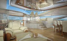 Luxury office design - office on water - office boat - office yacht - luxury yacht 👑👑👑