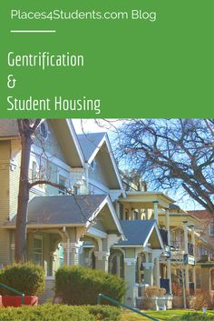 Is student housing gentrification becoming a problem? [BLOG] #studenthousing