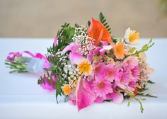 A tropical pink bouquet | Crystal Cove by Elegant Hotels, Barbados