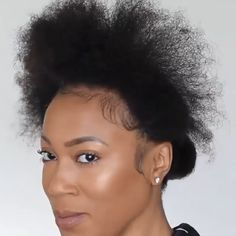 Cabello Afro Natural, Natural Hair Cuts, Pelo Natural, Natural Hair Styles For Black Women, Tapered Natural Hairstyles, Natural Tapered Cut, Natural Hair Mohawk, Short Natural Styles, Natural Hair Wedding