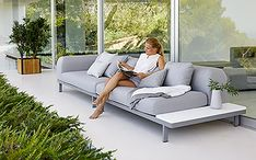 Oceanic Aluminum Sectional Outdoor Sofa Collection