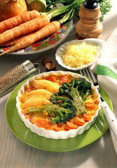 Unser beliebtes Rezept für Gemüse-Gratin und mehr als 55.000 weitere kostenlose Rezepte auf LECKER.de.