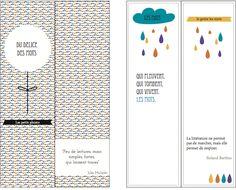 Des marques-pages jolis-jolis à imprimer, - Vie de Miettes