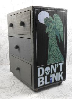 Weeping Angel Doctor Who Inspired Stash Jewelry by pzcreations22, $27.50