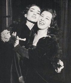 giulietta Simionato Maria Callas Teatro alla Scala