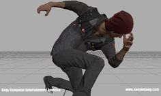 Some animation clips I made for infamous second son and first light. All hand keyed animation.