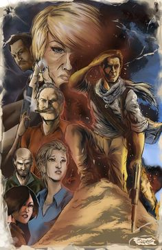 uncharted 3 painted by jpdeshong on DeviantArt