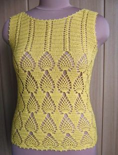 patterns shop | I loved the graphic .... this crochet blouse… | Flickr