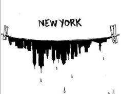 wet new york - New York City Feelings