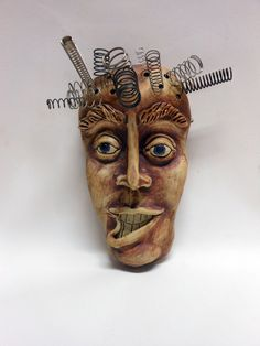Does Not Compute Ceramic Mask by Uturn on Etsy, $65.00   Leslie Hagen