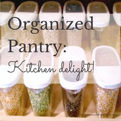 The Organized Pantry: A Kitchen Delight