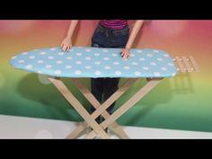 Barbie Çamaşır Askısı Yapımı - DIY - Kendin Yap Kolay Barbie Eşyaları - Bidünya Oyuncak - YouTube