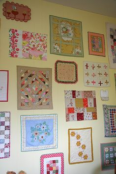 doll quilt wall