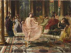 The Ionian Dance - Edward John Poynter