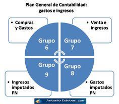 Visualización de Gastos e Ingresos en el PGC.