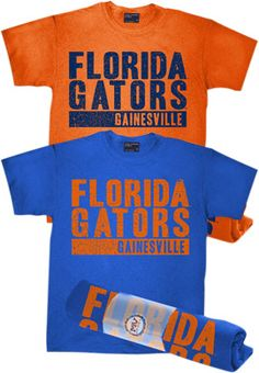 Product: University of Florida Gainesville Gators Rolled T-Shirt