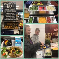 THIS is @SchoolLunch in Morgan County TN! Lucky students see how @PotatoesRTBar on taste + nutrition #mushrooms #veggies #cheese @sedairy Proper Nutrition, Nutrition Program, Nutrition Education, Kids Nutrition, Nutrition Tips, Nutrition Classes
