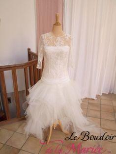 robe de marie genevive cymbeline - Point Mariage Lorient