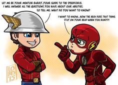 Barry asking the real questions