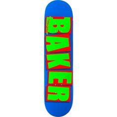 Brand new Baker Brand Logo Deck - now at Warehouse Skateboards! Baker Skateboards, Royal Green, Skateboard Decks, Warehouse, Logo, Red, Skateboards, Logos, Skate Board
