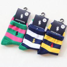 Primavera 2016 algodão meninas meias 6 pares/lote 3 - 12 T crianças meias lazer bebê barra de cores meninos meias para crianças outono de alta qualidade(China (Mainland))