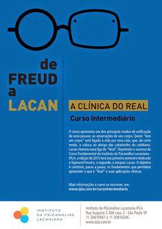 Informações § Contribuinte do Brasil.: De Freud a Lacan – Curso Intermediário, no IPLA