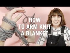 How to knit a blanket | WATG Blog