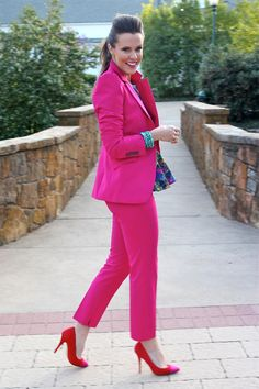 My version of a springtime power suit!