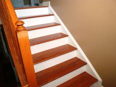 Using Wood in Your Stair Tread Caps