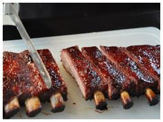 texan bbq ribs #barbecue #ribs