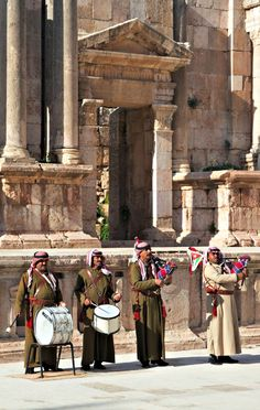 Jerash is one of the largest and best-preserved sites of Roman architecture in the whole world. It is located west of modern day Jerash, and about 45 kilometres North of Jordan's capital, Amman. The city is packed with ruins of ancient monument still in a remarkable good condition.