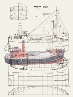, giving a model size of 24 in. Scale Full Size Printed Plan on a x Model Boat Plans, Model Building, Boat Building, Boat Projects, Flying Boat, Tug Boats, Boat Design, Navy Ships, Rc Model