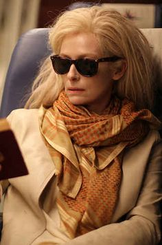 Tilda Swinton in 'Only Lovers Left Alive', 2013, dir. Jim Jarmusch with Costume Designer Bina Daigeler.