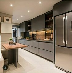 Modern Luxury Kitchens For A Grand Kitchen Modern Luxury Kitchens For A Grand Kitchen Kitchen Room Design, Luxury Kitchen Design, Kitchen Cabinet Design, Luxury Kitchens, Home Decor Kitchen, Interior Design Kitchen, Home Kitchens, Kitchen Modular, Modern Kitchen Cabinets