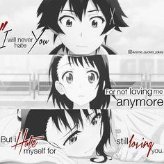 Animequotes Anime Quotes Nisekoi Onedara