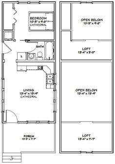 Tiny house furniture jay has recently designed a series of 14x32 tiny house 646 sq ft pdf house plans garage plans solutioingenieria Choice Image