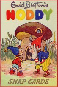 Noddy Snap Cards by Enid Blyton